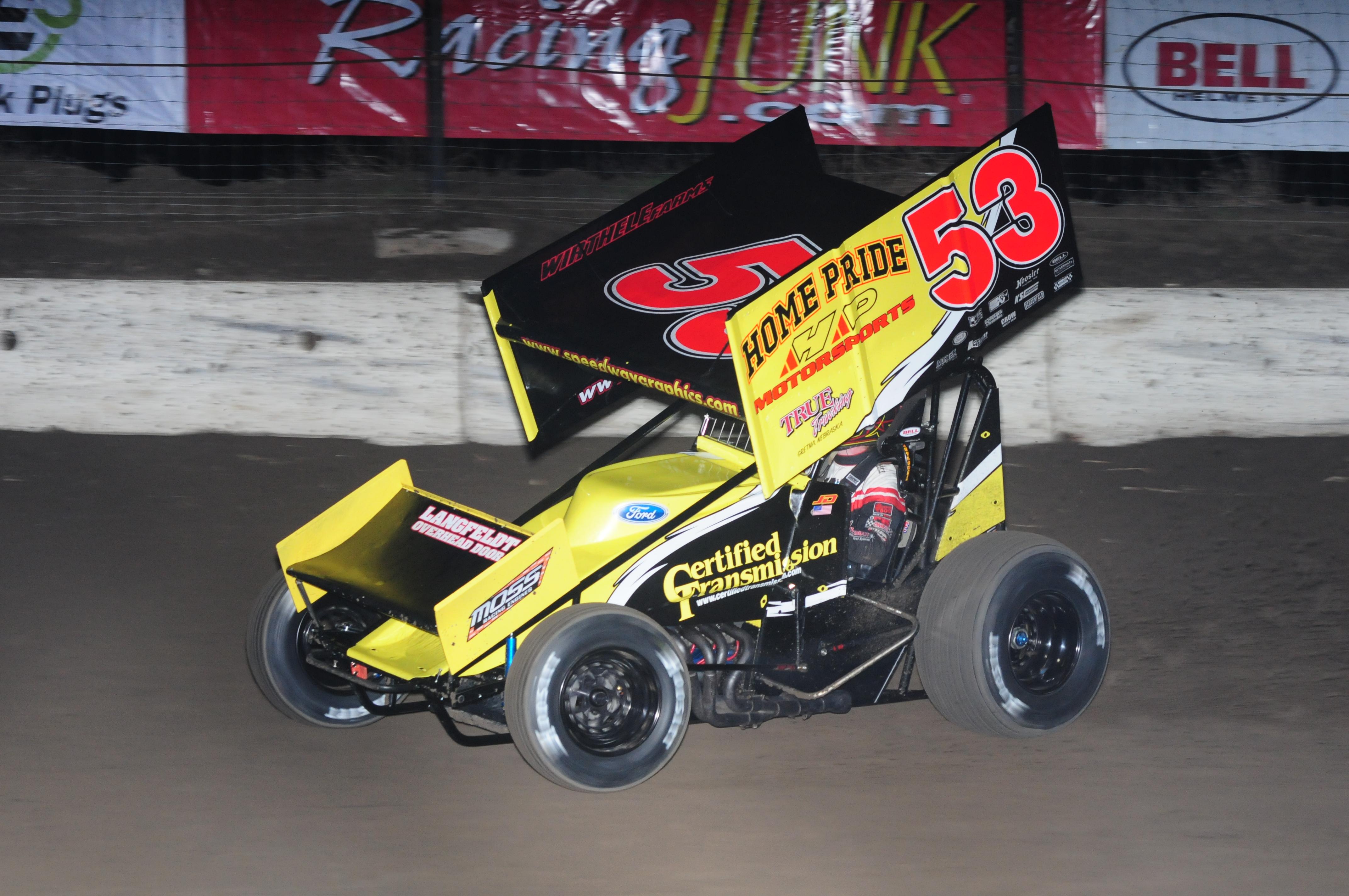 Sprint Car Jack : Nebraska sprint cars at i speedway for facebook