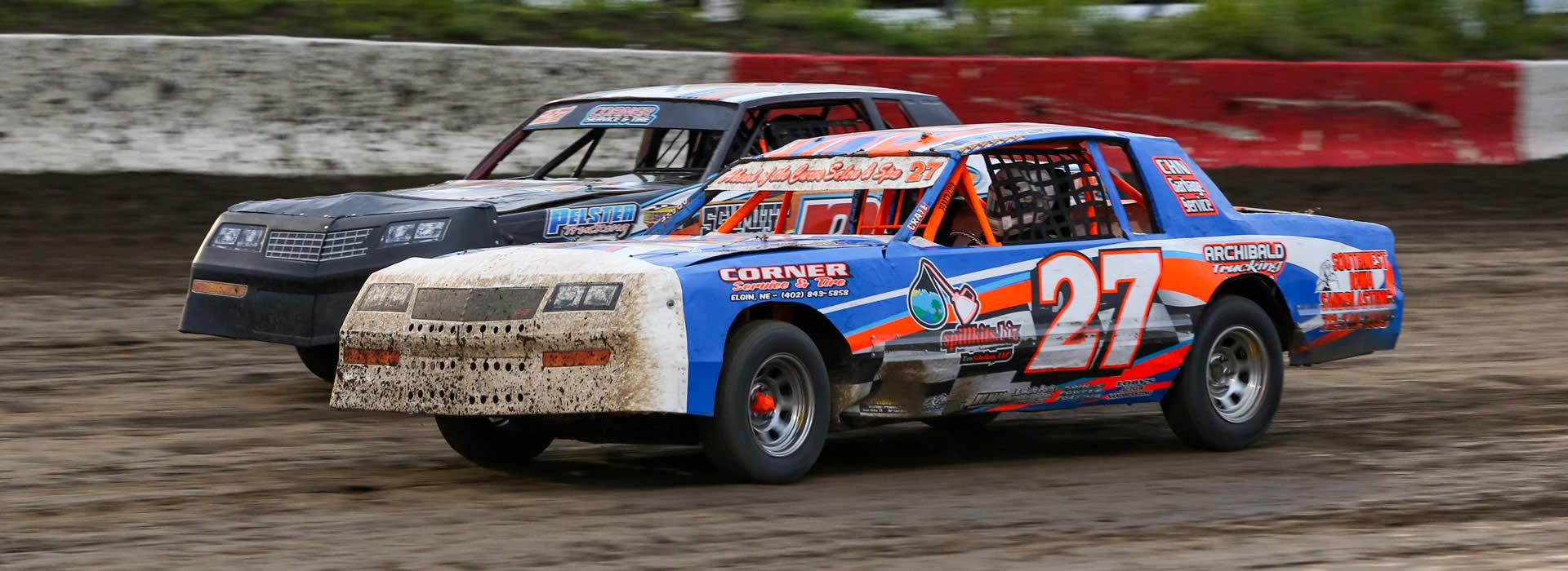 kids box car races veterans night nascar weekly racing series no hobby stocks
